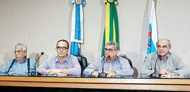 Presidentes dos clubes do Rio se reuniram na Federação do Rio contra decisão de torcida única