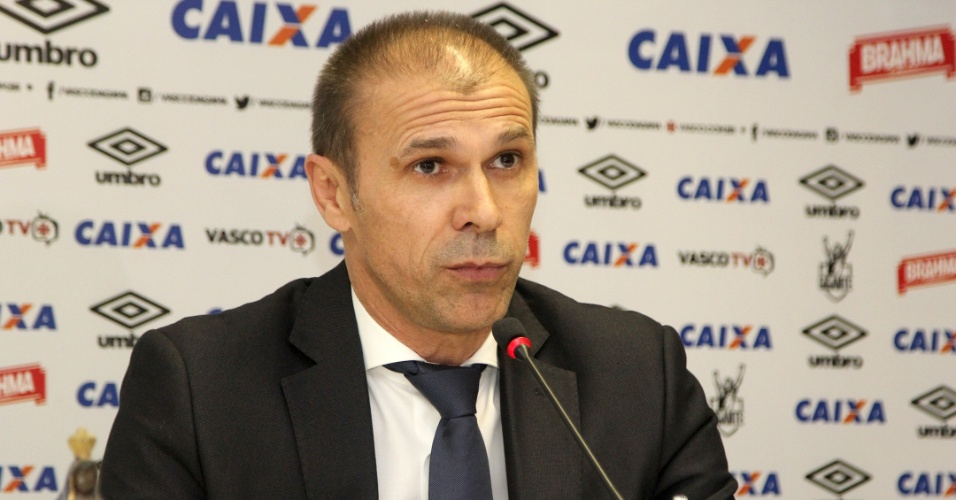 Milton Mendes foi apresentado pelo Vasco nesta segunda-feira (20) em São Januário