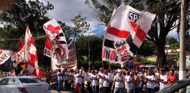 Manifestação da organizada Independente