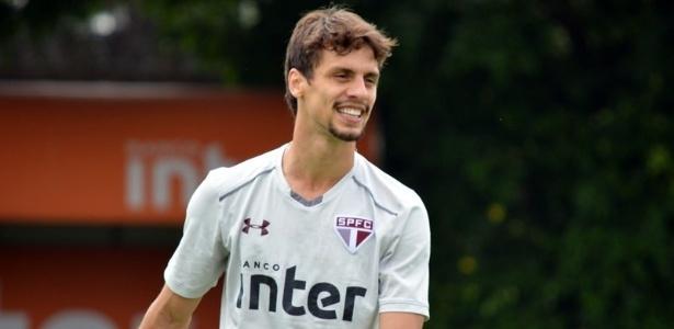 Rodrigo Caio iniciará sua oitava temporada no profissional do São Paulo