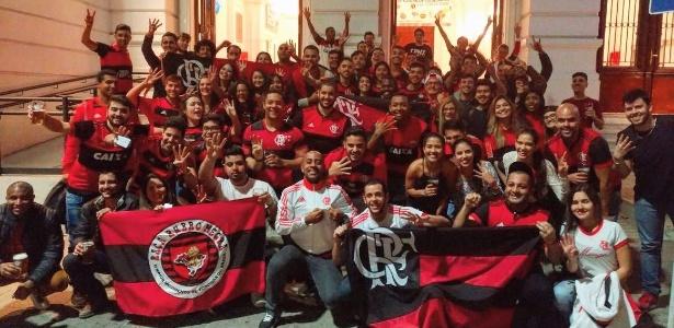 A Fla Buenos Aires reunida na capital argentina: mobilização para a decisão