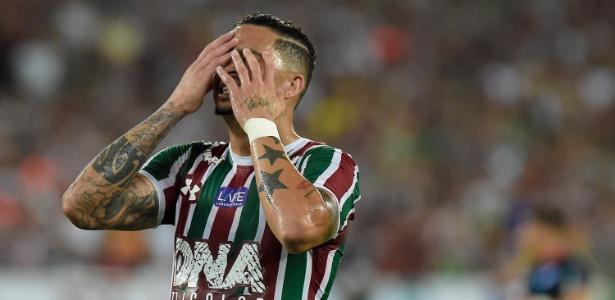Atacante Luciano é arma do Fluminense para superar o Bahia - Thiago Ribeiro/AGIF