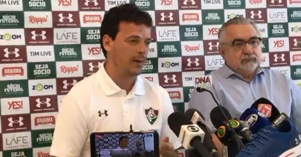 Fernando Diniz é apresentado pelo Fluminense 63f8a7225f838