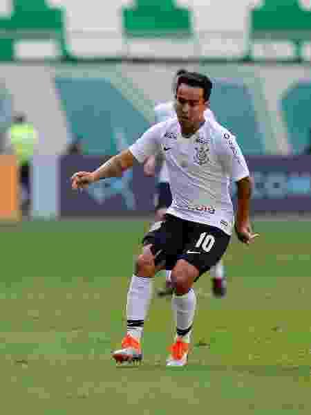 Jadson em duelo Palmeiras x Corinthians em 2018 - Daniel Vorley/AGIF