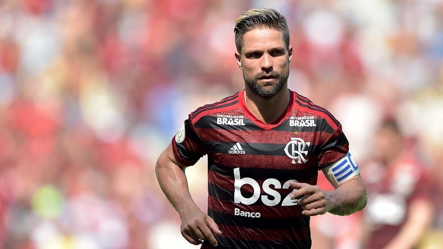 Diego vinha sendo titular absoluto do Flamengo nas últimas temporadas - Thiago Ribeiro/AGIF