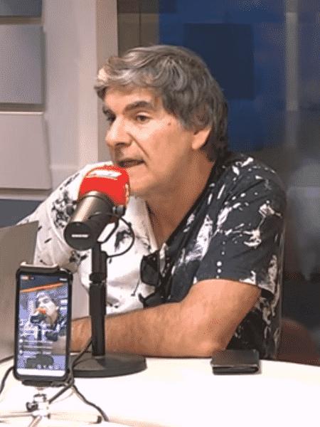 João Carlos Albuquerque, durante entrevista à rádio Bandeirantes - Reprodução/Bandeirantes