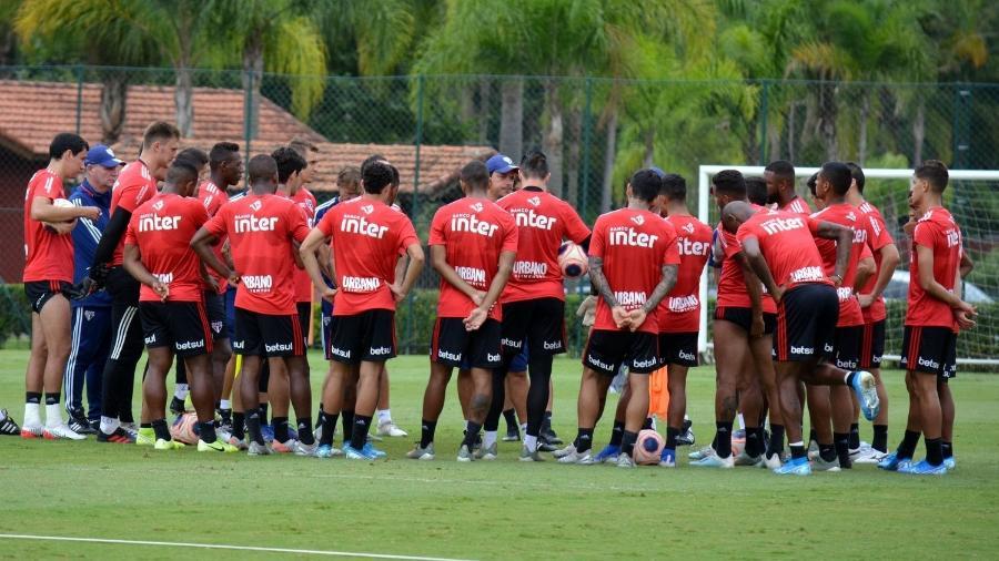 Elenco do São Paulo faz a pré-temporada de 2020 em Cotia - Rubens Chiri/saopaulofc.net