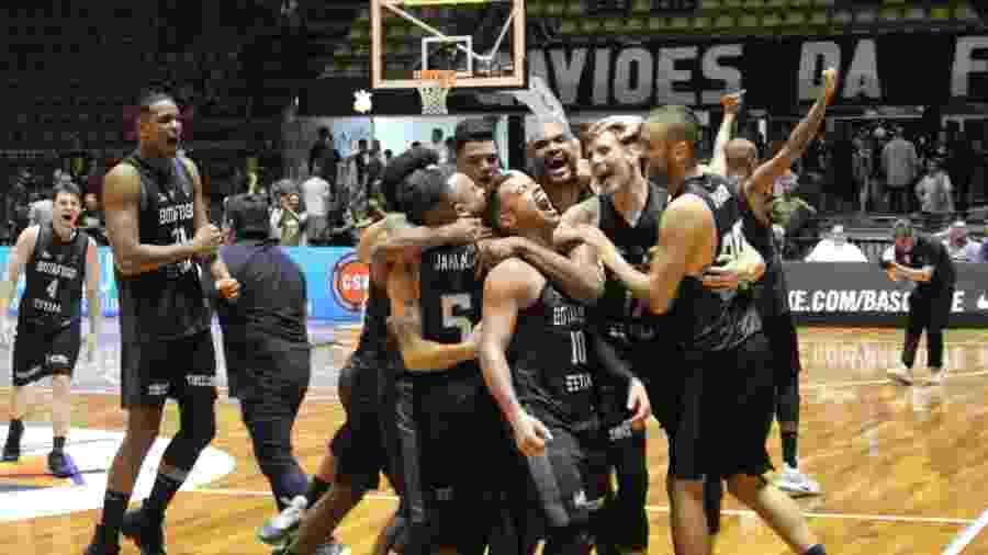 Botafogo é campeão sul-americano de basquete - Divulgação/LNB