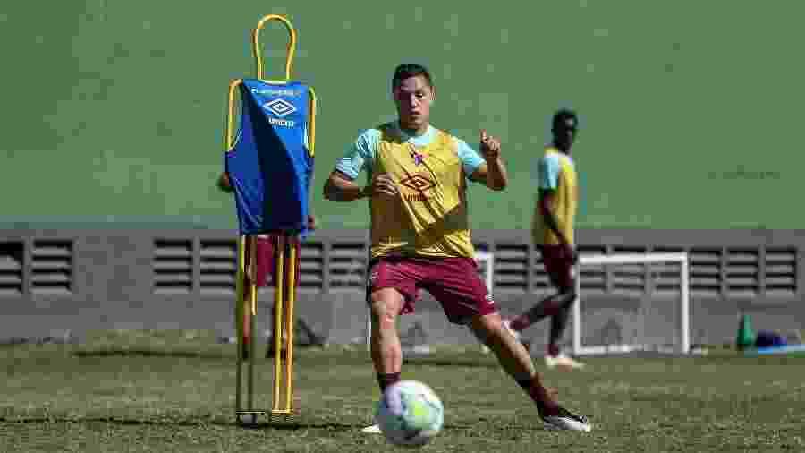 Marlon deve ser novamente cedido pelo Fluminense, desta vez ao Trabzonspor, da Turquia - Lucas Merçon/Fluminense FC