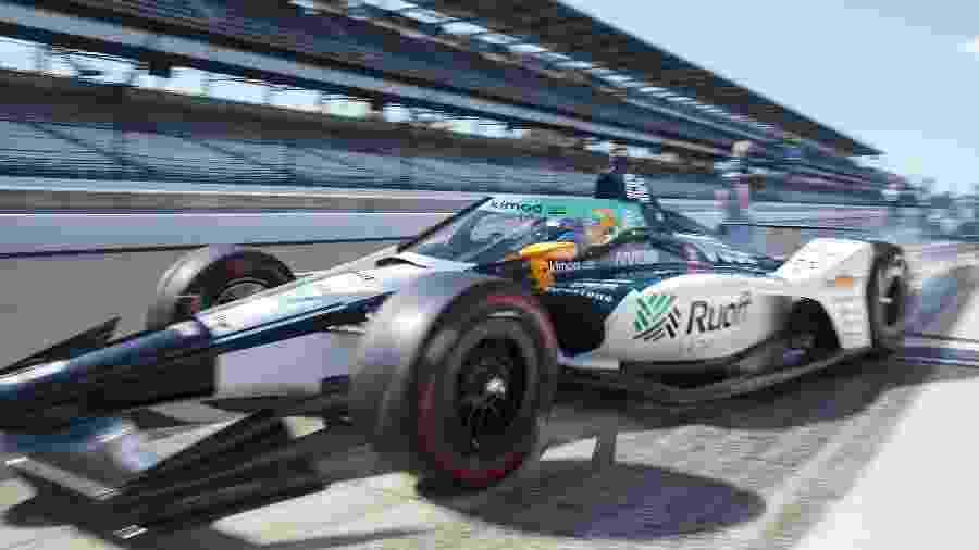 Fernando Alonso durante treino para a 104ª corrida das 500 milhas de Indianápolis - Mark J. Rebilas-USA TODAY Sports