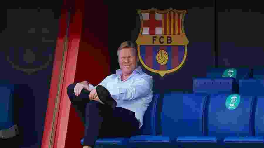 Ronald Koeman, técnico do Barcelona - Pedro Salado/Quality Sport Images/Getty Images