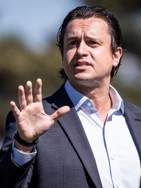 Sergio Santos Rodrigues, presidente do Cruzeiro, em 29/05/2020 - Gustavo Aleixo/Cruzeiro