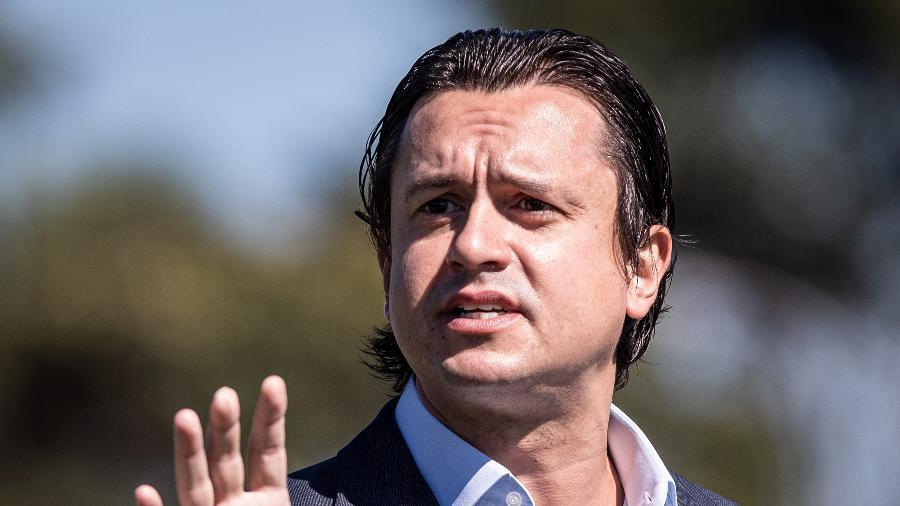 Presidente do Cruzeiro está na mira da torcida, que cobra a renúncia do dirigente  - Gustavo Aleixo/Cruzeiro