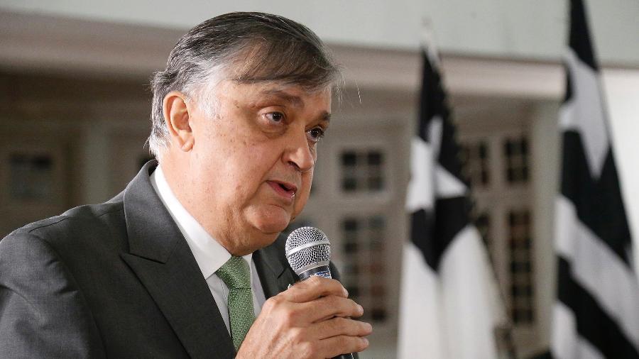 Durcesio Mello toma posse como presidente do Botafogo - Vitor Silva/Botafogo