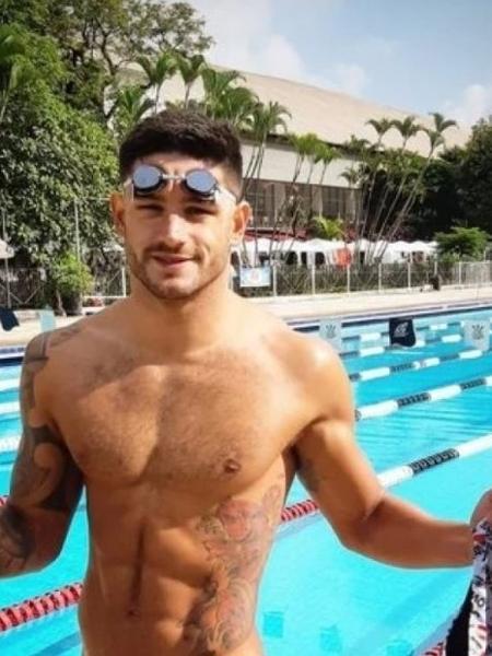 Arthur Pedroso, ex-nadador do Corinthians - Reprodução