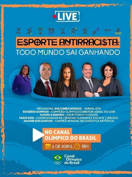 Programa educacional de combate ao racismo no esporte - Divulgação