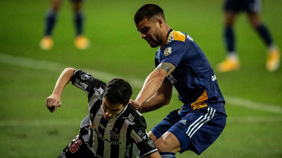Atlético-MG e Boca Juniors se enfrentaram pelas oitavas de final da Libertadores - Agência I7/Mineirão