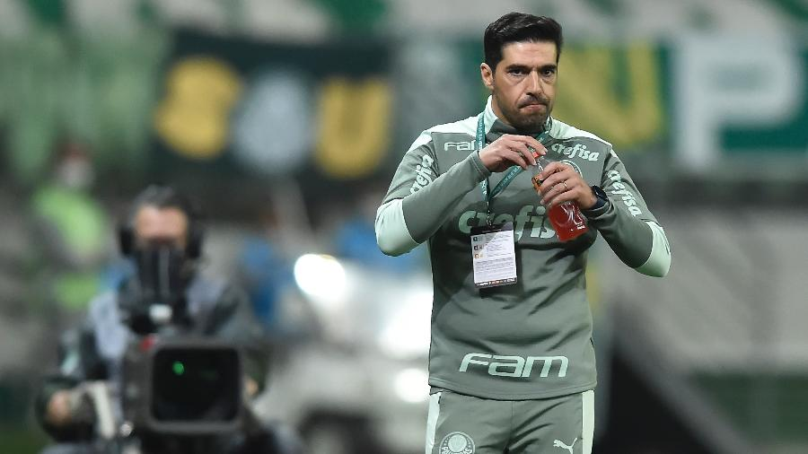 Abel Ferreira comanda o Palmeiras contra a U. Católica, pela Libertadores - Staff Images / CONMEBOL