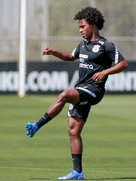 Willian já treina no Corinthians - Rodrigo Coca/ Ag. Corinthians