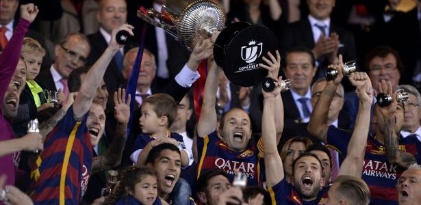 Barcelona é o atual campeão da Copa do Rei