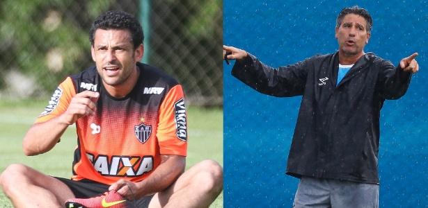 Política do Flu está tão quente que sobrou até para Fred e Renato Gaúcho