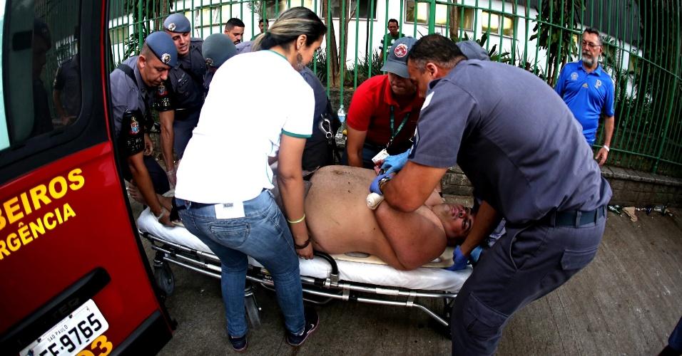 Torcedor passa mal antes de jogo entre Palmeiras e Chapecoense