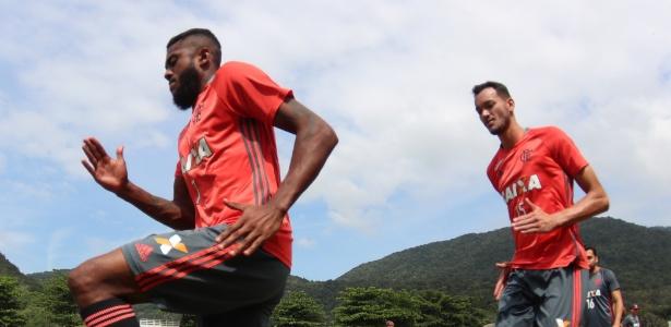 Marcelo Cirino pode ir do Flamengo para o Inter, que está de olho em reforços - Gilvan de Souza/ Flamengo