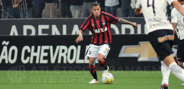 Sidcley jogou 26 partidas do Brasileiro pelo Atlético-PR
