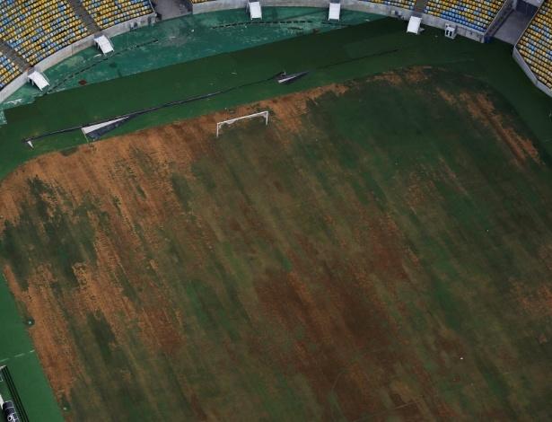 Maracanã deteriorado e sem condições de receber partidas