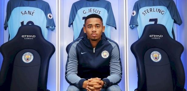 Gabriel Jesus deve estrear pelo Manchester City no próximo sábado