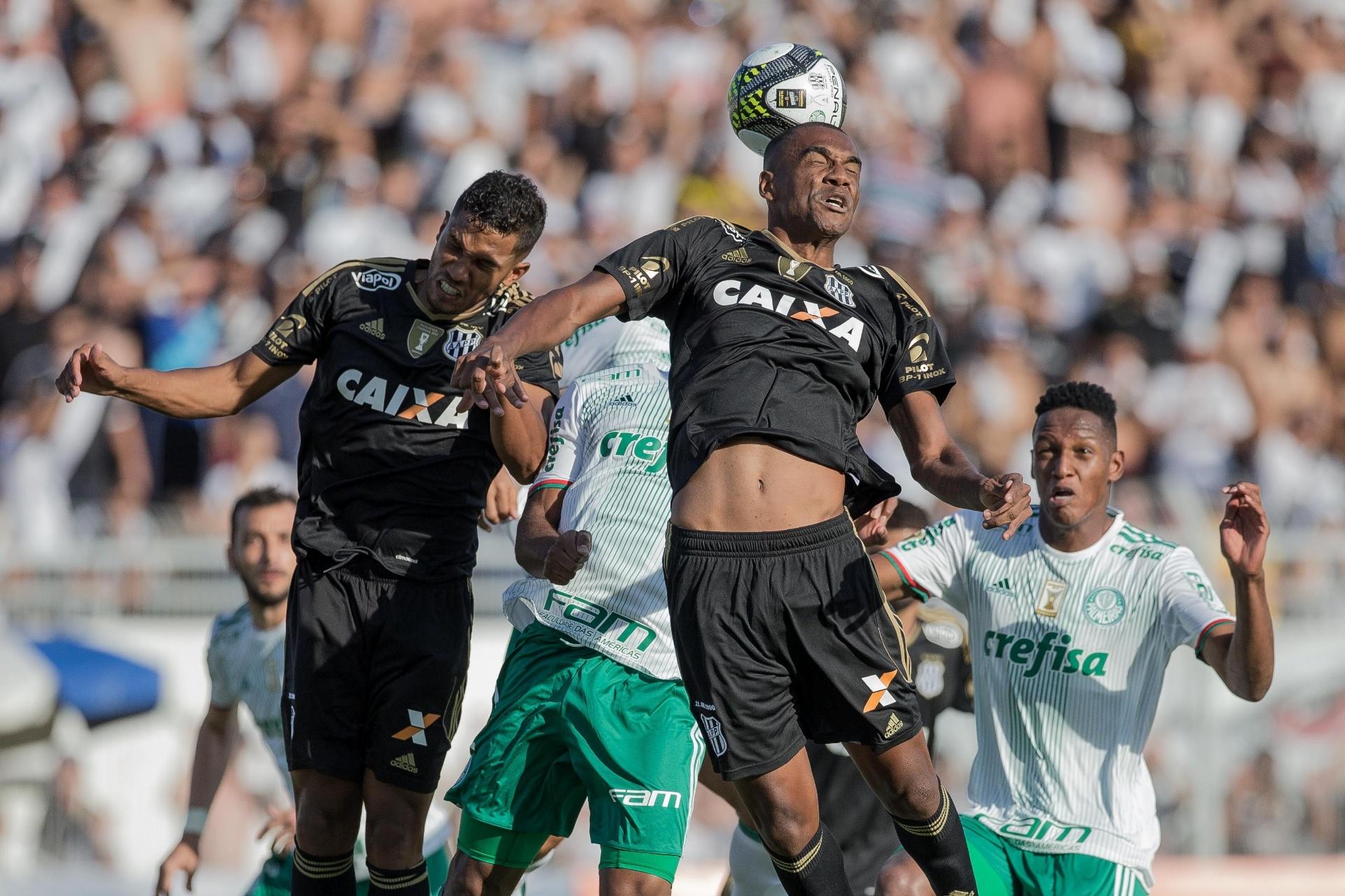 Palmeiras fez quatro vezes no ano o placar que o mantém vivo no Paulista -  17 04 2017 - UOL Esporte 46eb245cb7371