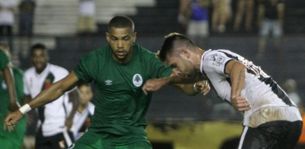 Zagueiro Lucas Rocha atuou contra o Vasco no Campeonato Carioca