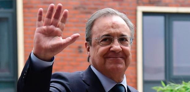 Florentino Pérez, presidente do Real, pode ir às compras em janeiro