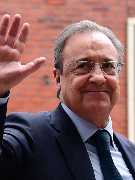 Florentino Pérez, presidente do Real Madrid - AFP PHOTO / JAVIER SORIANO