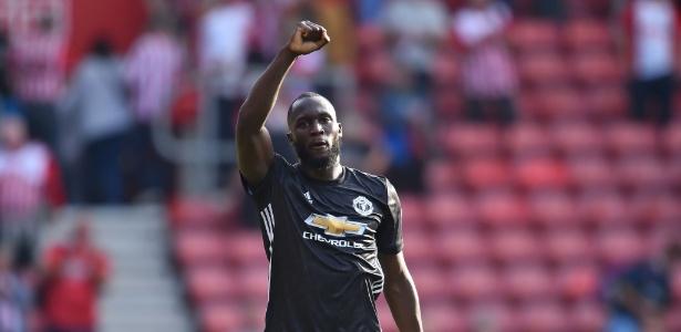Lukaku tem oito gols em oito jogos pelo Manchester United - GLYN KIRK/AFP