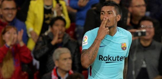 Paulinho é um dos destaques do Barcelona na temporada