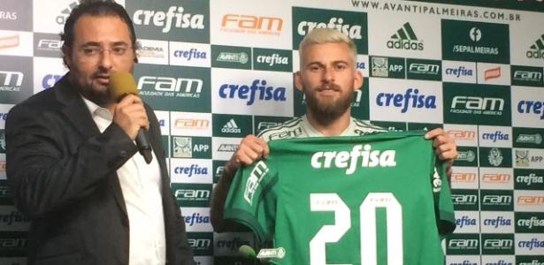 Reforço de peso para 2018, Lucas Lima faz nesta quinta sua estreia pelo Palmeiras
