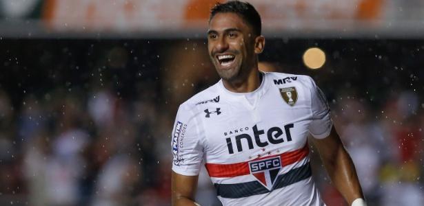 Tréllez tem dois gols em 11 partidas com a camisa do São Paulo