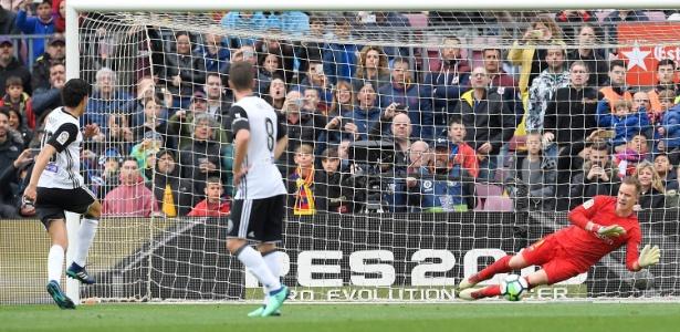 Ter Stegen foi o melhor da partida de acordo com técnico do Valencia