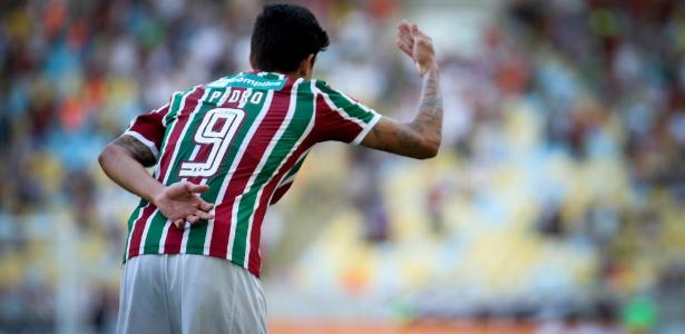 Pedro festeja mais um gol no Maracanã: camisa 9 do Flu faz ótimo ano