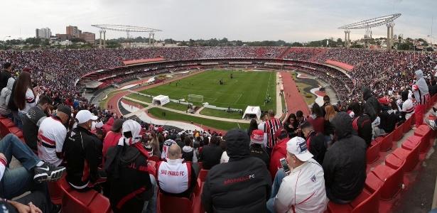 O Morumbi será palco da abertura da Copa América de 2019 - saopaulofc.net