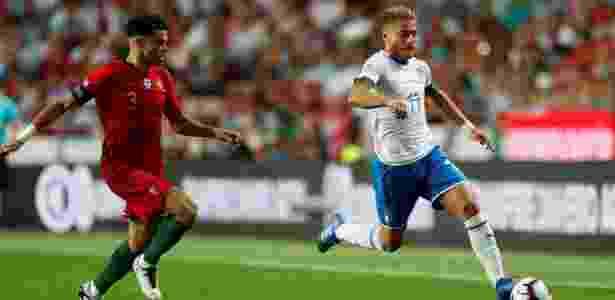 Immobile foi mal contra Portugal e acabou substituído - REUTERS/Rafael Marchante