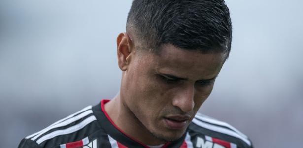 Everton deve desfalcar  o São Paulo na partida deste domingo, contra o Botafogo - Pedro Vale/AGIF