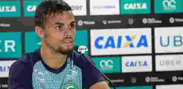 Atacante Michael não deixará o Goiás antes do fim do ano - Rosiron Rodrigues/ GEC