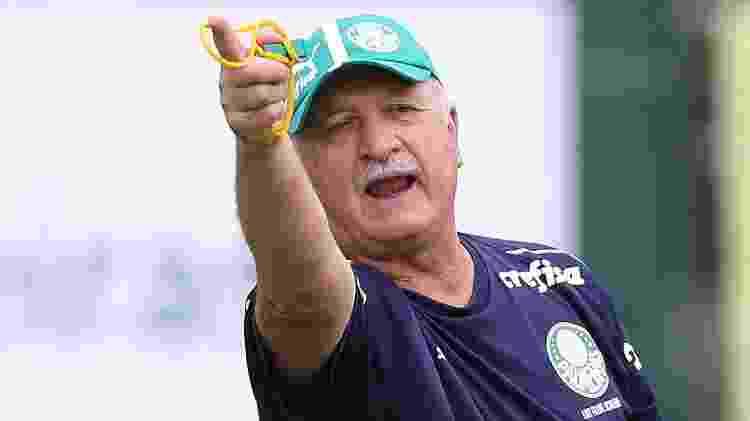 Felipão, técnico do Palmeiras - César Greco/Ag. Palmeiras/Divulgação - César Greco/Ag. Palmeiras/Divulgação