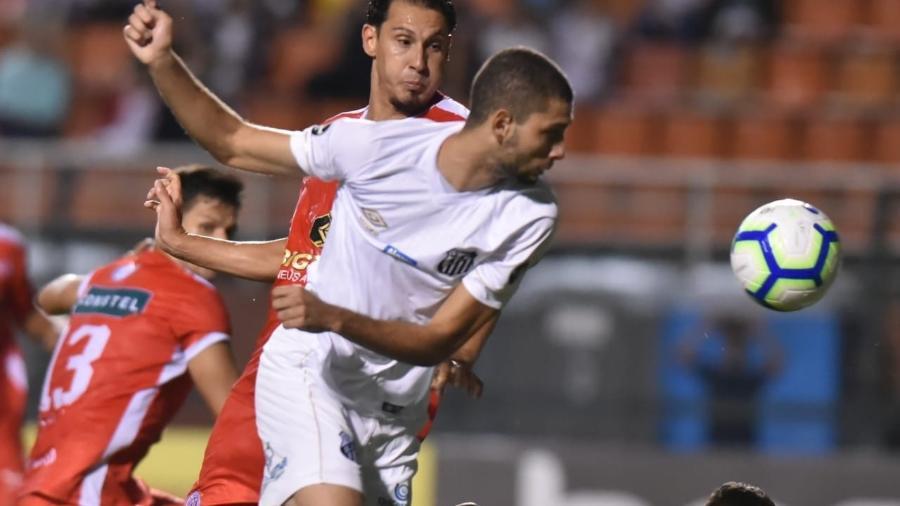 Wagner Leonardo estreou pelos profissionais do Santos contra o América-RN - Ivan Storti/Santos FC