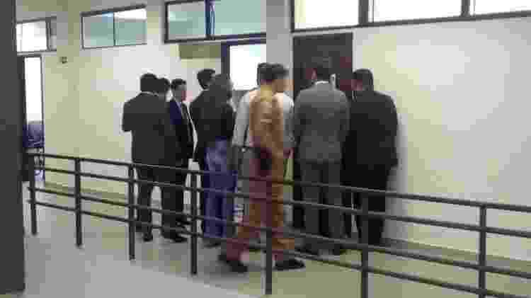 Fórum de São José dos Pinhais, onde ocorrem as audiências do caso Daniel - Dimitri Valle/UOL