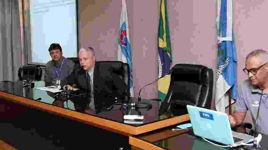 """Presidente da Comissão de Abritragem do Rio, Jorge Rabello é acusado por associação de ser um dos """"cabeças"""" do esquema - Ferj"""