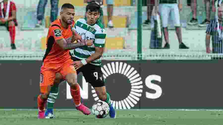 Bruno Tabata, destaque do Portimonense, fez parte da seleção pré-olímpica do Brasil - Reprodução
