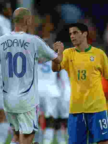 Cicinho na Copa do Mundo de 2006 - Tony Marshall - EMPICS/PA Images via Getty Images